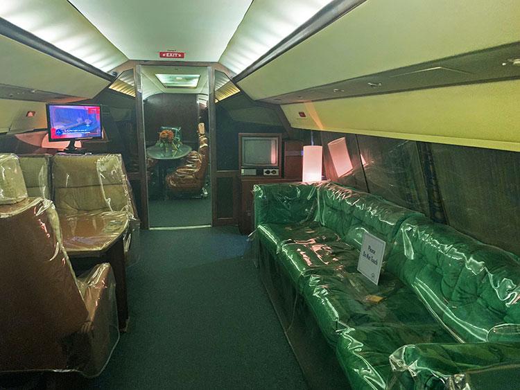 Avião de Elvis em Memphis