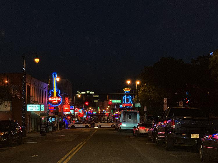 Beale Street em Memphis