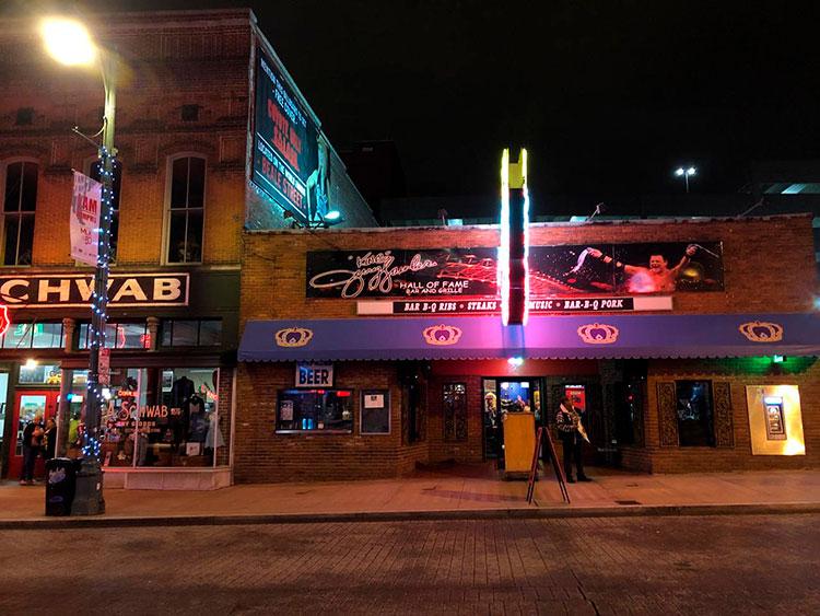 Beale Street - roteiro em Memphis