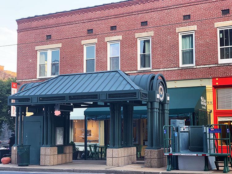 Main Street em Memphis