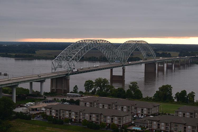 Mirante em Memphis