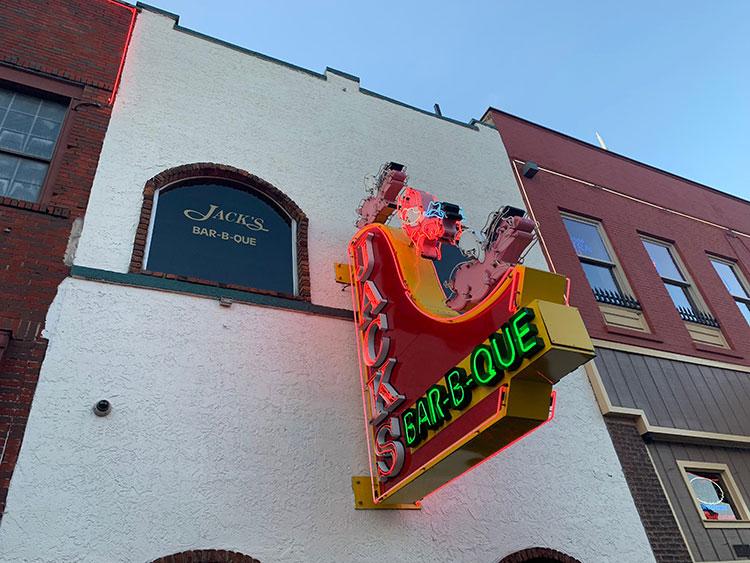 Jack's Bar-B-Que onde comer em Nashville