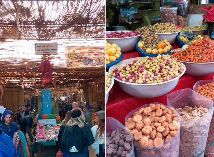 Mercados em Marrocos