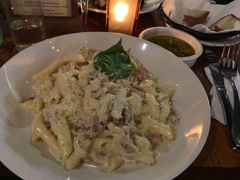 Restaurante em Little Italy em New York