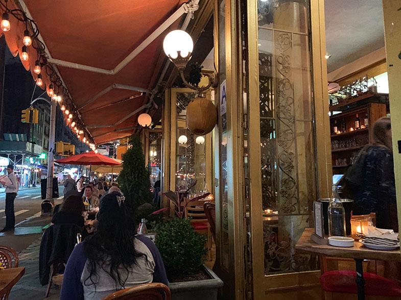 Restaurantes em Little Italy em New York