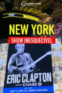 Eric Clapton em New York