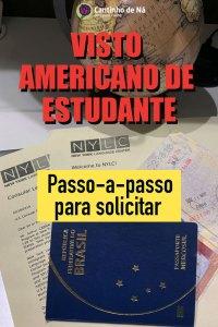 Visto americano de estudante