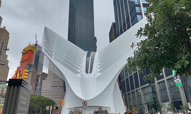 Estação Oculus em New York, a mais cara do mundo