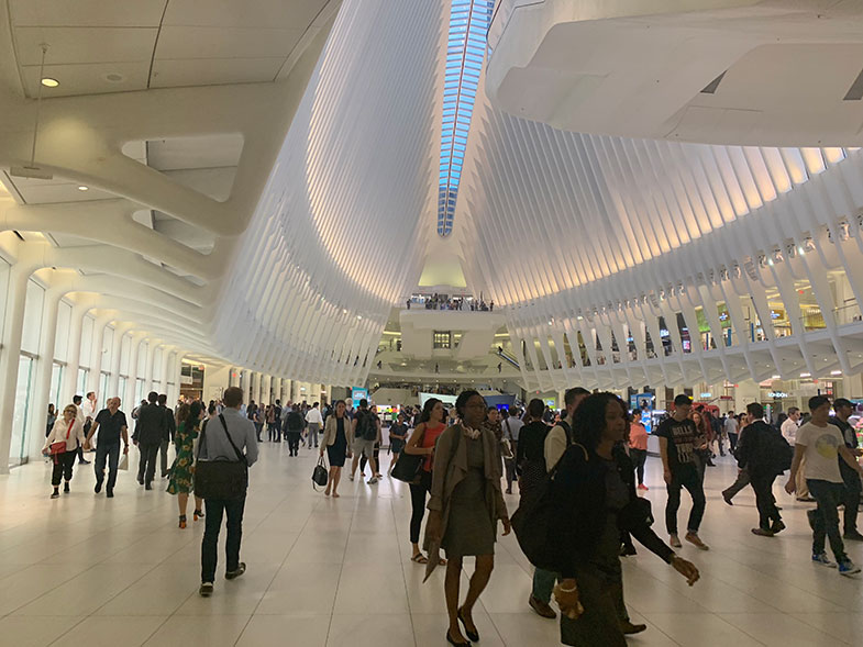 Estação Oculus em New York