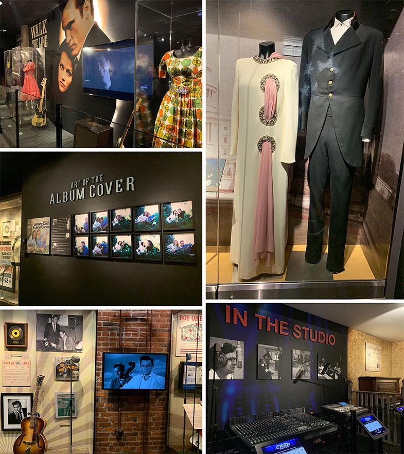 Museus em Nashville - Johnny Cash