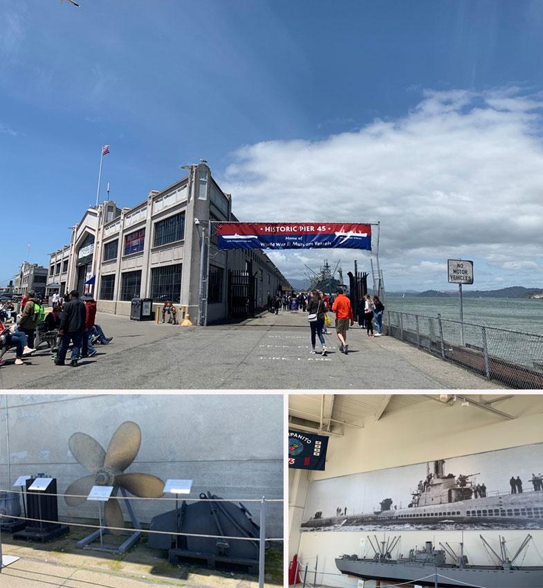 USS Pampanito em San Francisco
