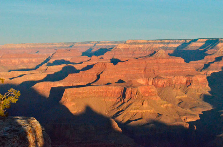 Grand Canyon South num bate e volta de Las Vegas