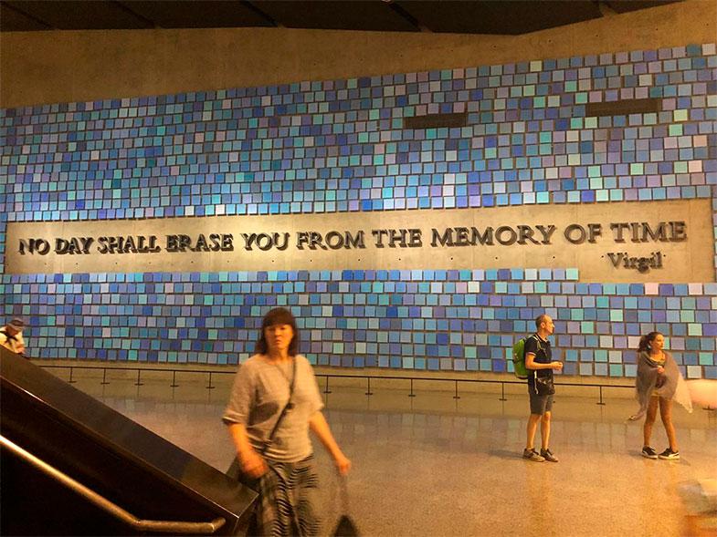 Memorial 11 de setembro, visita ao museu em New York