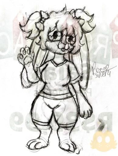 Desenho da Melissa com Roupas corrigido