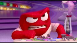 Anger character from Disney Pixar movie Inside Out
