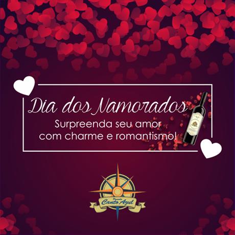 Promocao Dia dos Namorados - Pousada Canto Azul Guaruja