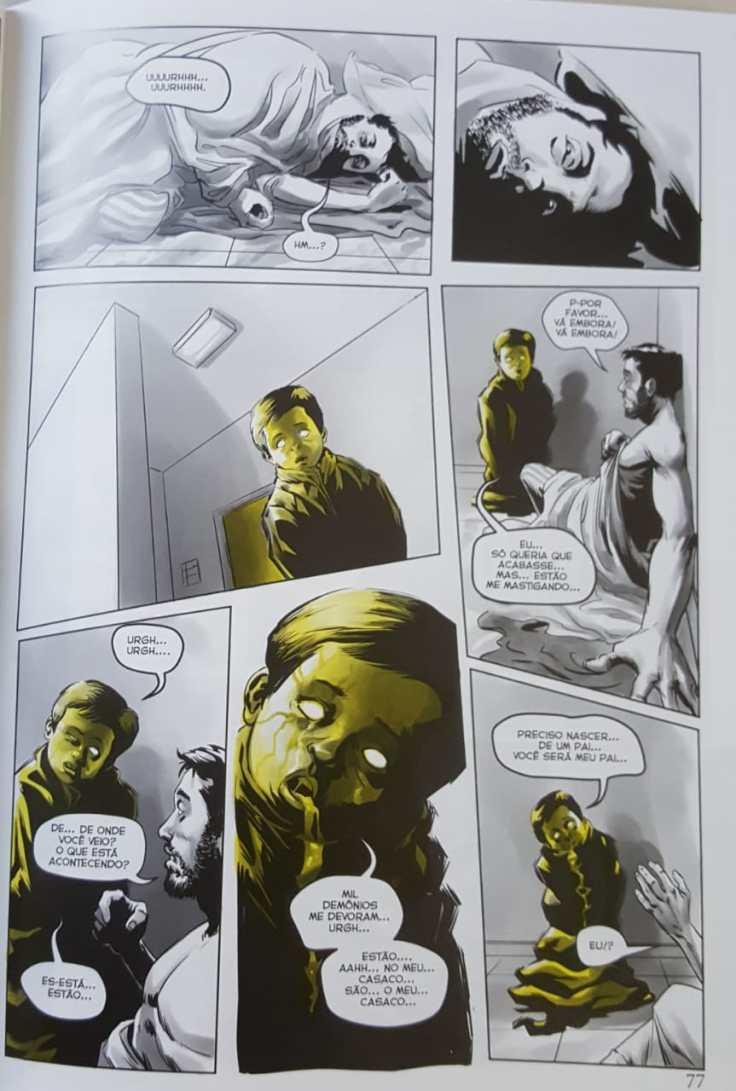 O Rei Amarelo em Quadrinhos - Raphael Fernandes - Editora Draco - Canto do Gargula