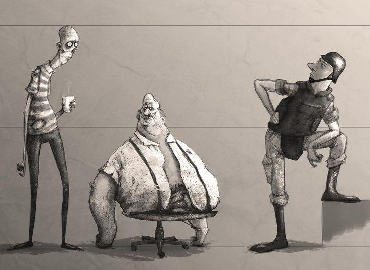 Less than human - Alter - Curta-metragem - Canto do Gargula