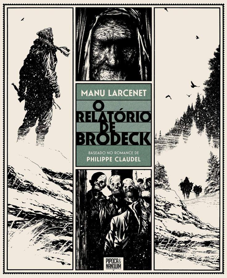 O Relatório de Brodeck - Manu Larcenet - Pipoca e Nanquim - Canto do Gárgula