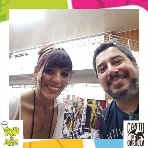 2a Feira Pop & Art 2020 - Renata C B Lzz - Canto do Gárgula