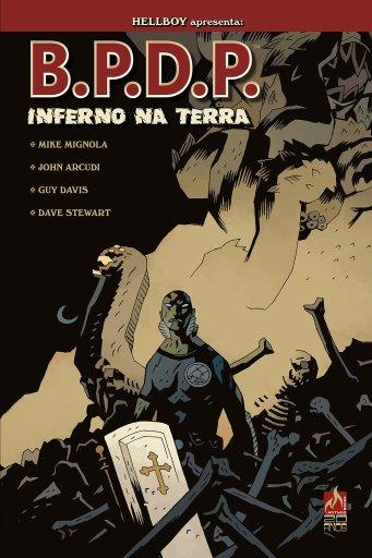 BPDP - Inferno na Terra - Volume 1 - Mike Mignola - Mythos Editora - Canto do Gárgula