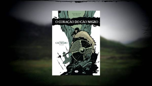 O Coração do Cão Negro - Cesar Alcázar - Fred Rubim - AVEC Editora - Canto do Gárgula