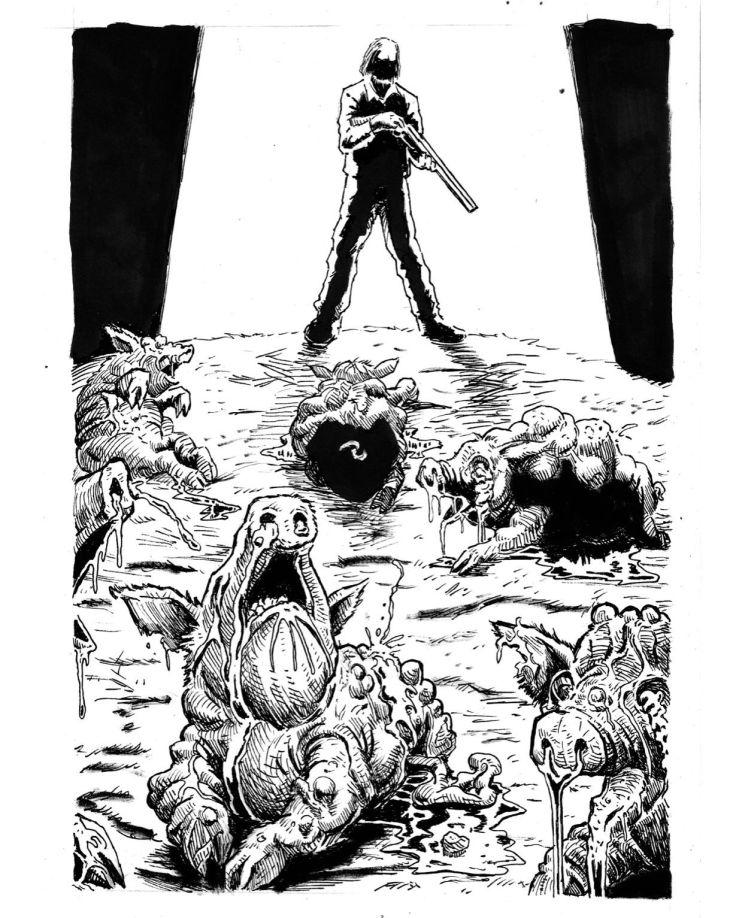 A Cor que Caiu do Espaço - H P Lovecraft - Romeu Martins - Val Oliveira - Ítalo Silva - Skript Editora - Financiamento Coletivo - Catarse - Canto do Gárgula