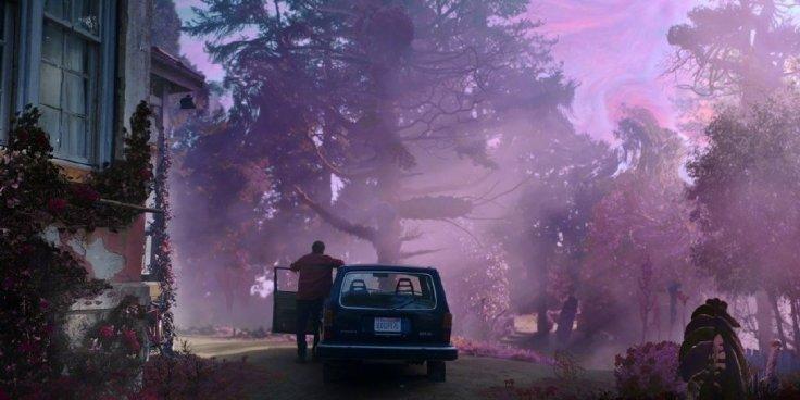 A cor que caiu do espaço o filme com Nicolas Cage - Cinema - Canto do Gárgula