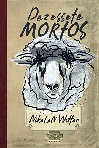 Uma cabeça de ovelha desenhada estilizada