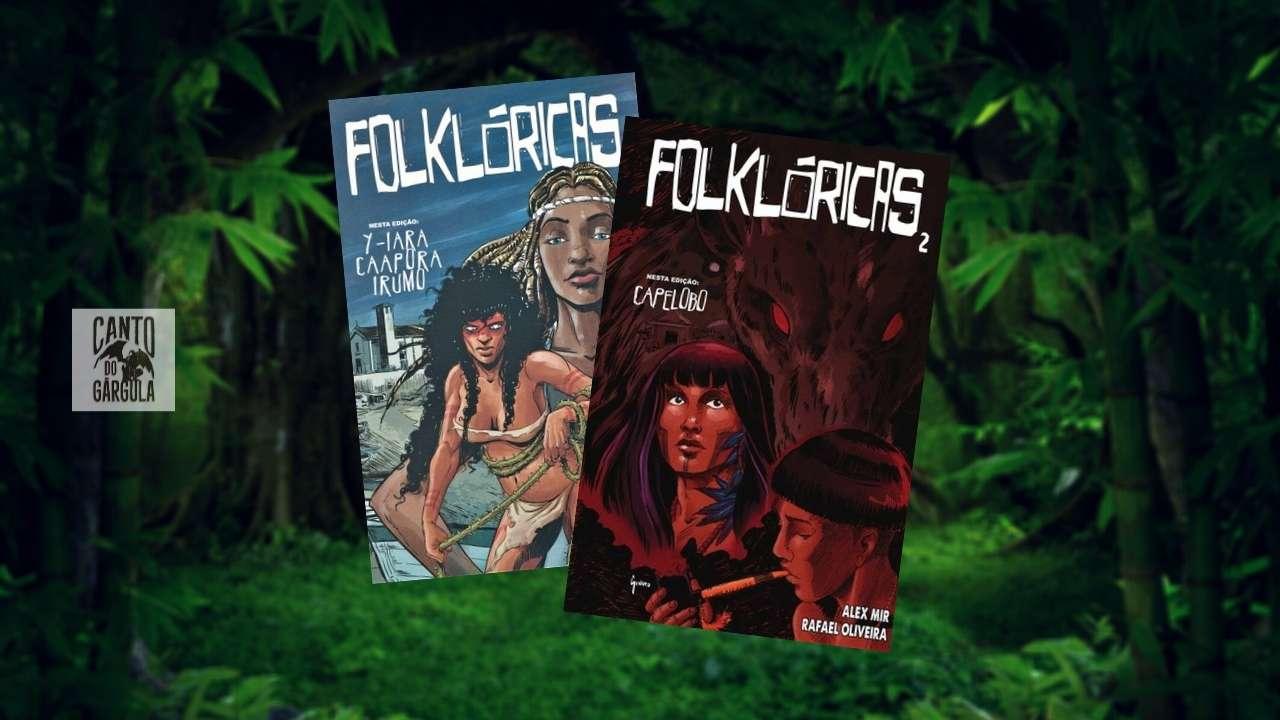 Folklóricas 1 e 2 - Alex Mir - Alex Genaro e Rafael Oliveira - Canto do Gárgula
