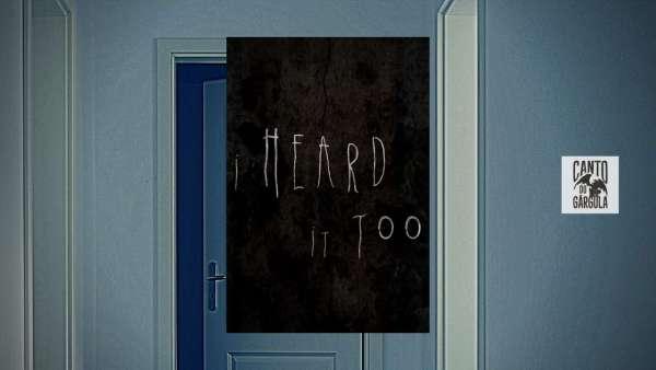 I Heard It Too - Matt Sears - Curta-Metragem - Canto do Gárgula