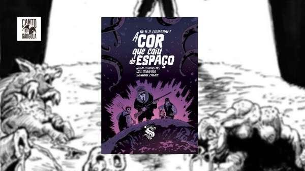 A cor que caiu do espaço - H P Lovecraft - Romeu Martins - Val Oliveira - Skript Editora