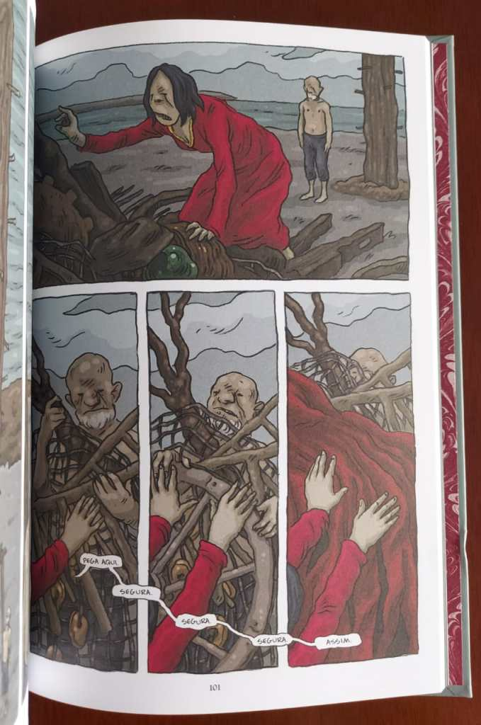 A bruxa Margaret - Jim Broadbent - Dix - Darkside Books