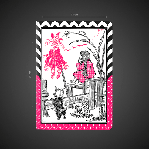 O mágico de Oz - L. Frank Baum - DarkSide Books - Canto Delas - Déborah Araújo