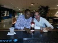 Nick Hangin with Mr. Cooper