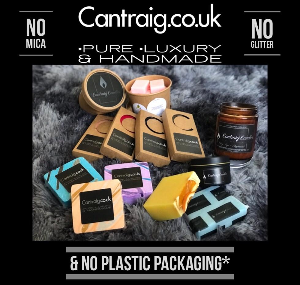 No Mica, No Glitter, No Plastics. Home Fragrance, Soaps, Bath & Body. Local plastic free