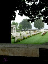 One of two cemeteries at Vimy.