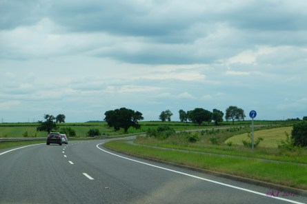 As we drove home last Sunday, one of my favourite views looked like this.