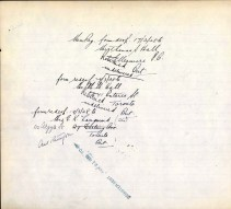 Canada, CEF Commonwealth War Graves Registers, 1914-1919 for T K Hall p2