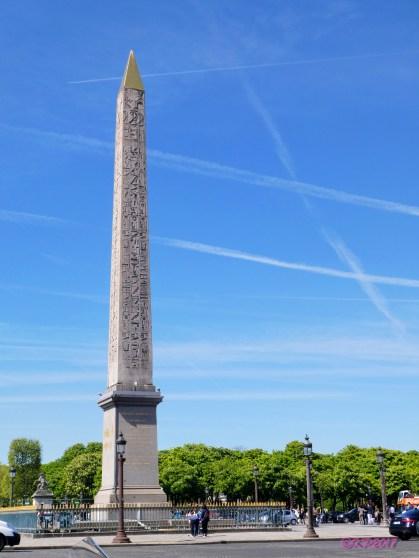 The Luxor Obelisk.