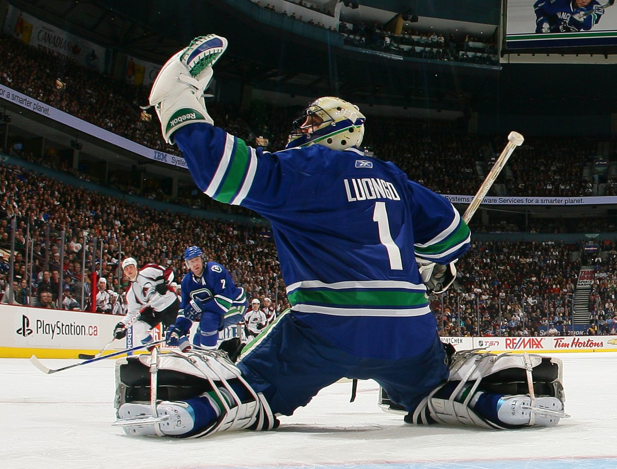 Today in 2006, Vancouver Canucks acquire Roberto Luongo