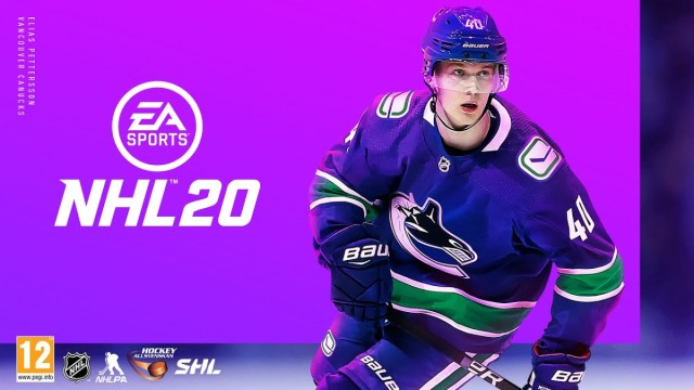 Elias Pettersson announced as NHL 20 cover athlete in Sweden