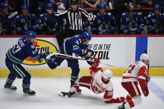 Vancouver Canucks vs Detroit Red Wings Postgame Report: Miller and Edler shine on PP1