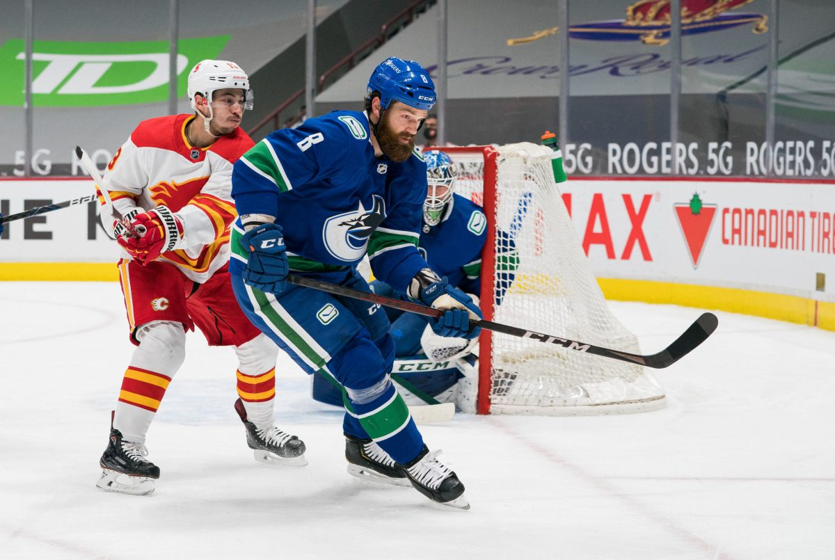Jordie Benn has been the unlikely solution to a large Canucks' problem