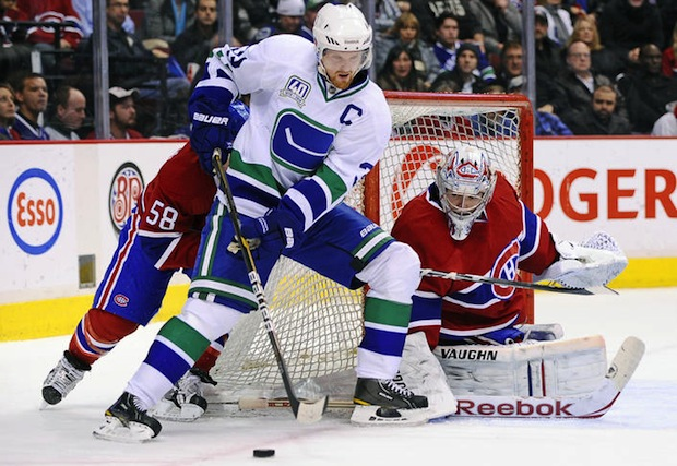 Vancouver Canucks vs. Montreal Canadiens