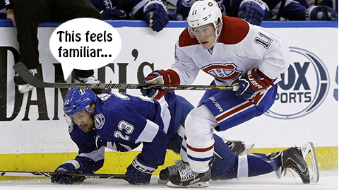 habs, canadiens and tampa bay lightning