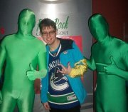 Canucks fan, Matthew Brosseau