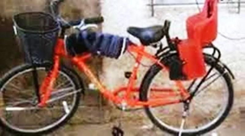 Cañuelas robaron una bicicleta en Av Libertad al 1300 atada con cadena a una reja. - Cañuelas, robaron una  bicicleta  en Av Libertad al 1300 atada con cadena a una reja.