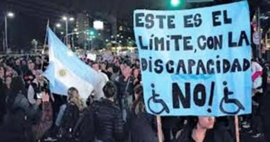 , Plaza de Mayo, movilización y protestas por la atención del estado hacía las personas con discapacidad., Cañuelas Noticias - Noticias de Argentina