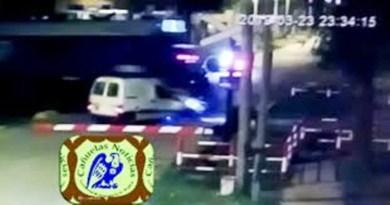 , Cañuelas, accidente pasó a nivel del Ferrocarril Roca y Pellegrini  con suerte y sin víctimas., Cañuelas Noticias - Noticias de Argentina